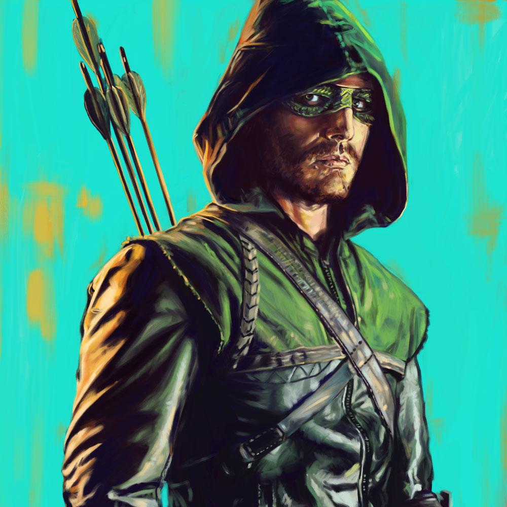 DC Superhero Takeover - Corey Lansdell